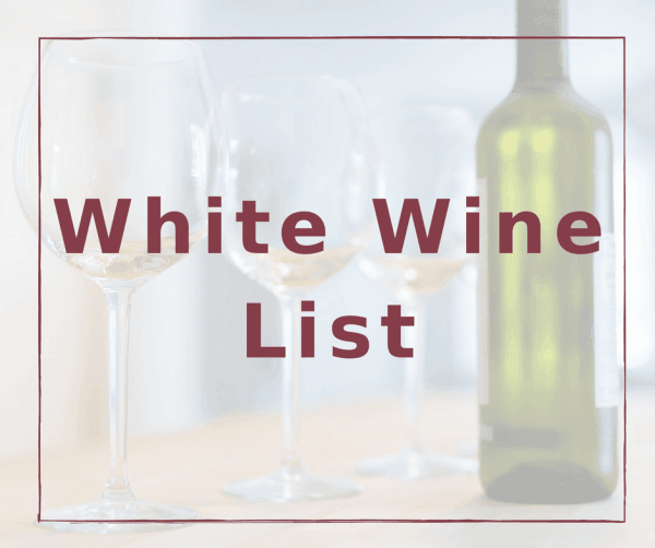 White Wine List