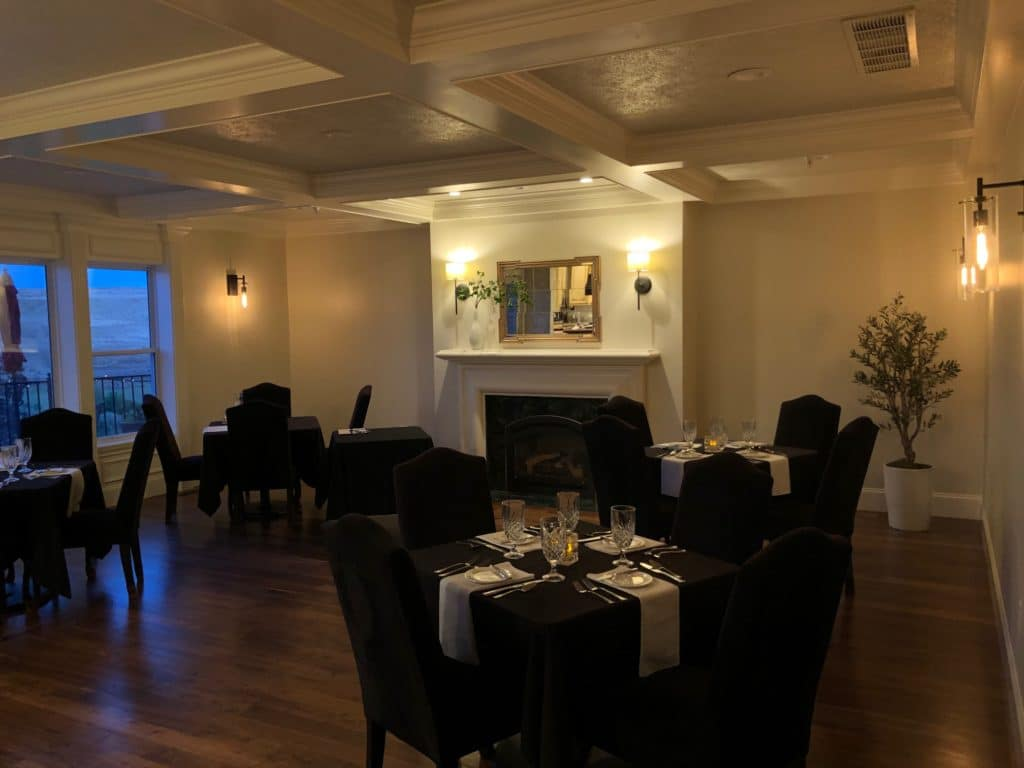 The Vine dining room